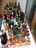 Erste Flaschen sammeln sich