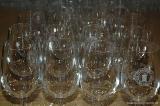 Die Gläser stehen bereit
