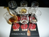 Auswahl beim Makers Mark Tasting