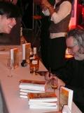 Der Meister signiert