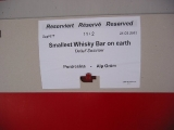 Smallest Whisky Bar on earth on tour